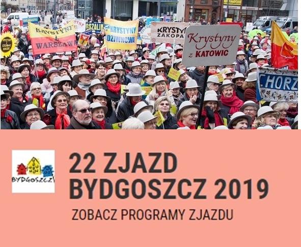 Polecamy udział w 22- Ogólnopolskim Zjeździe Krystyn, który odbędzie się w marcu w Bydgoszczy. Przygotowano trzy pakiety do wyboru od 11 do 14 marca.