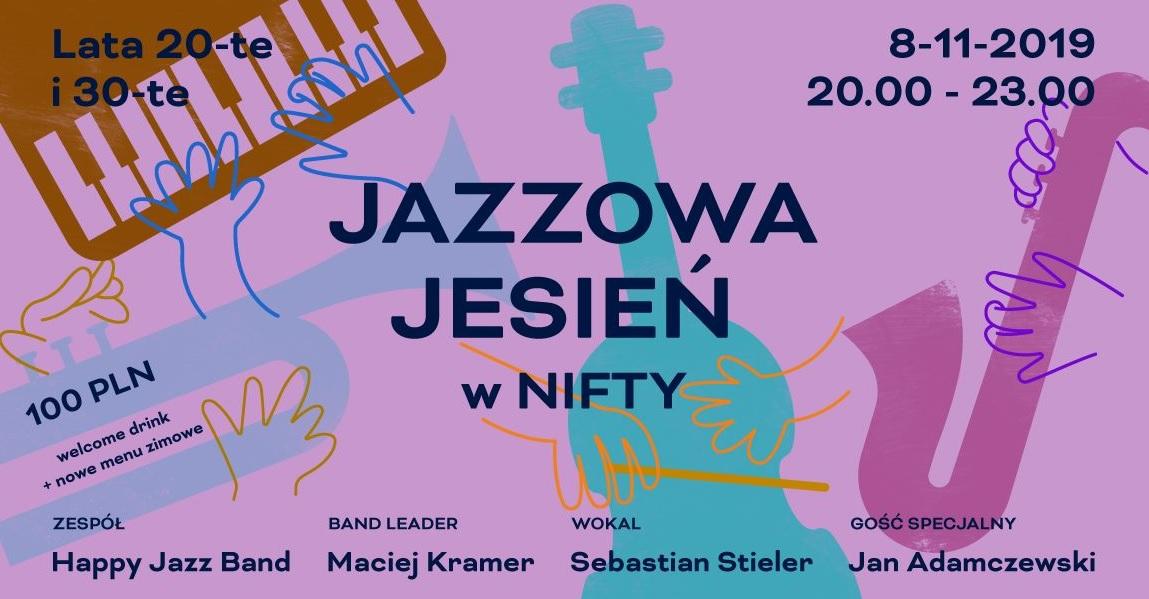 Zapraszamy miłośników muzyki jazzowej do Puro Hotelu w Poznaniu. Jazzowa jesień w restauracji Nifty No.20