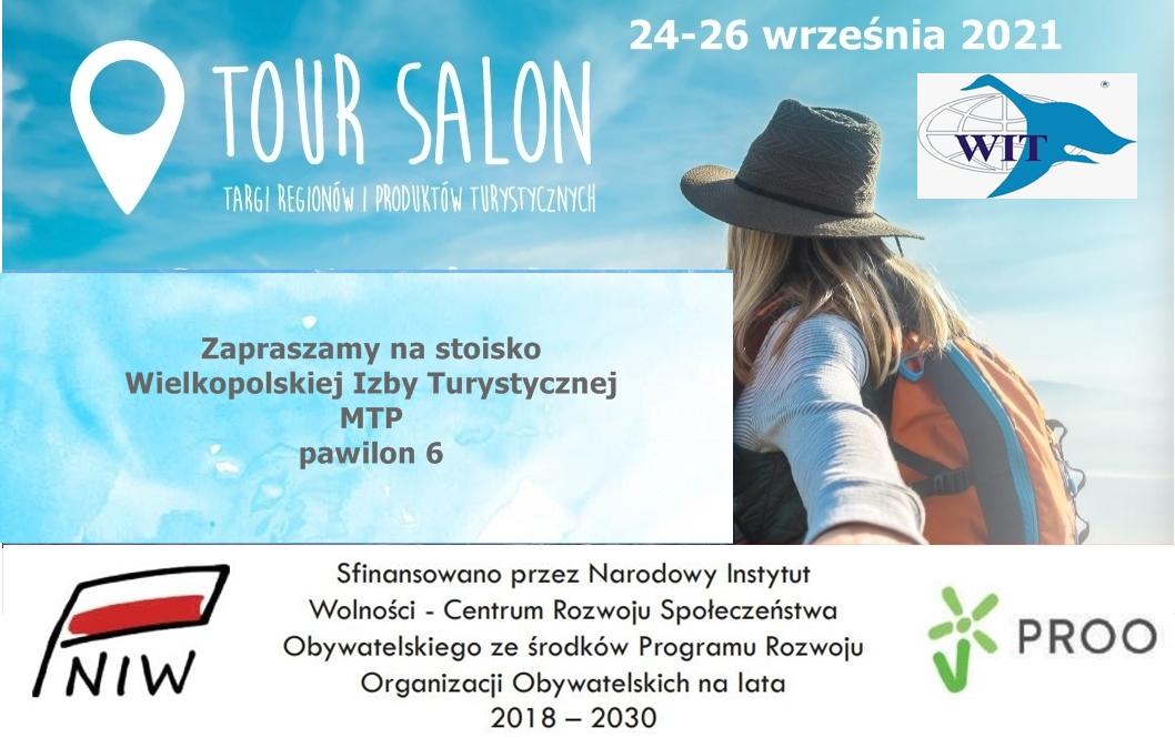 Zapraszamy na 32. edycję targów Regionów i Produktów Turystycznych Tour Salon, która odbędzie się w Poznaniu w dniach 24-26 września.