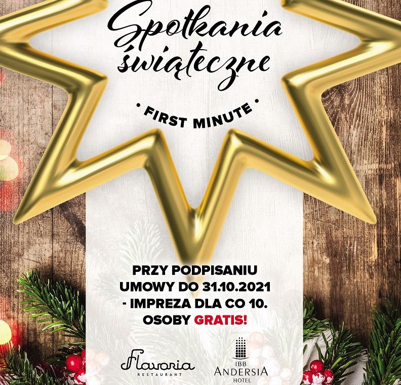 Zorganizuj świąteczne spotkanie firmowe w Hotelu IBB Andersia, polecamy !!!